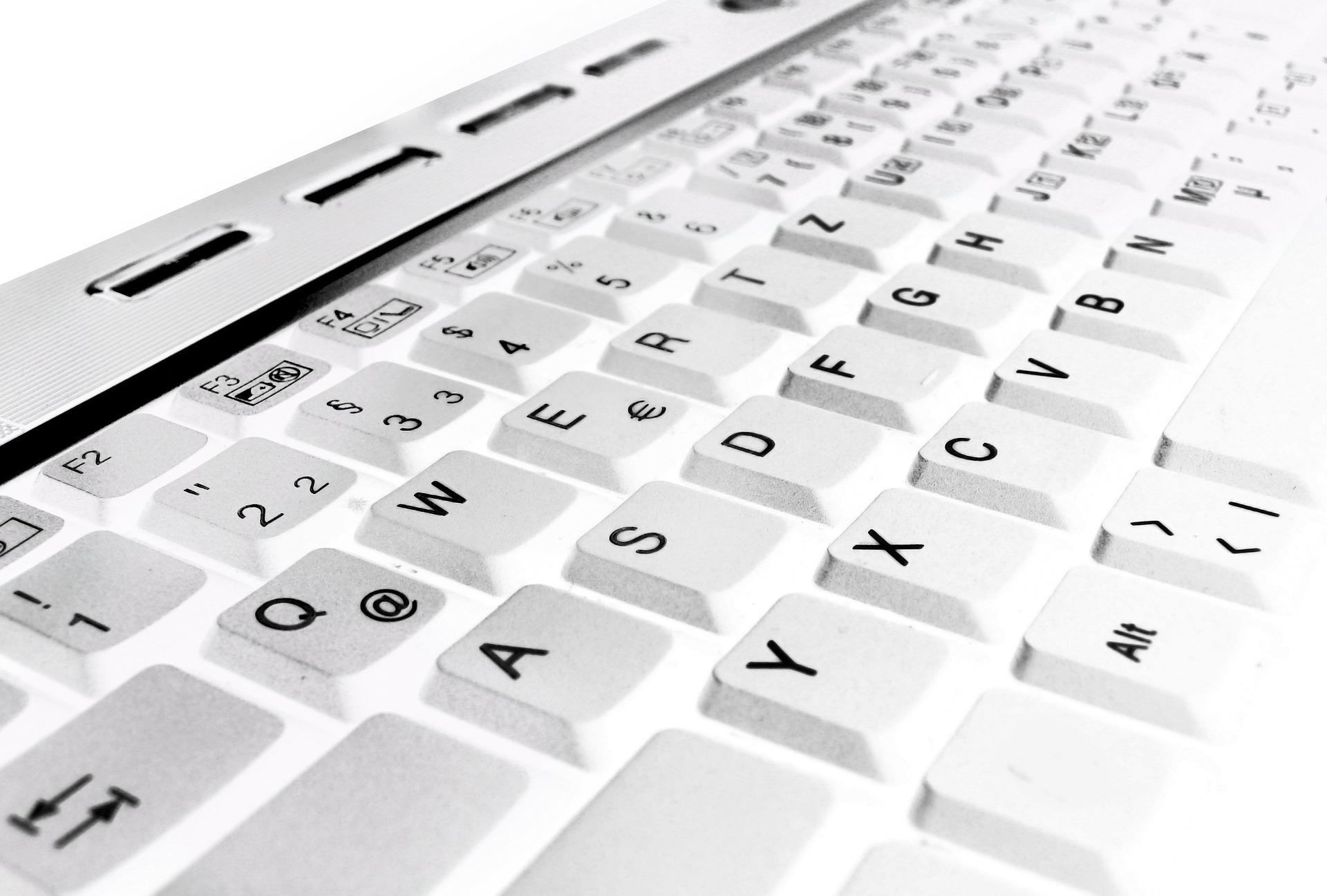 klawiatura dla leworęcznych